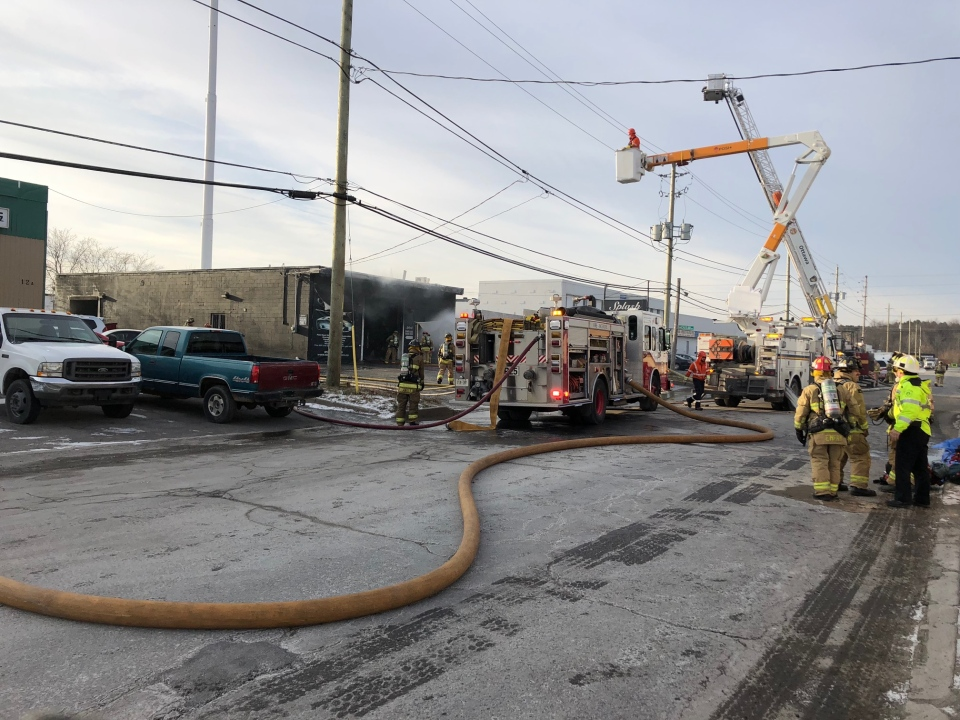 Fire at Splash Autocare in Nepean