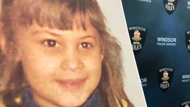 Ljubica Topic, 6, is shown in this photo at Windsor Police Headquarters in Windsor, on Friday, Dec. 13, 2019. (Michelle Maluske / CTV Windsor)