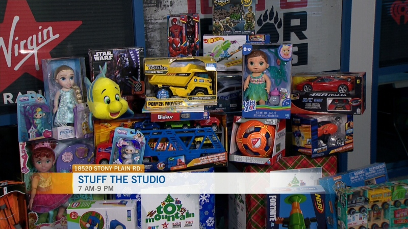 Stuff the Studio for Toy Mountain