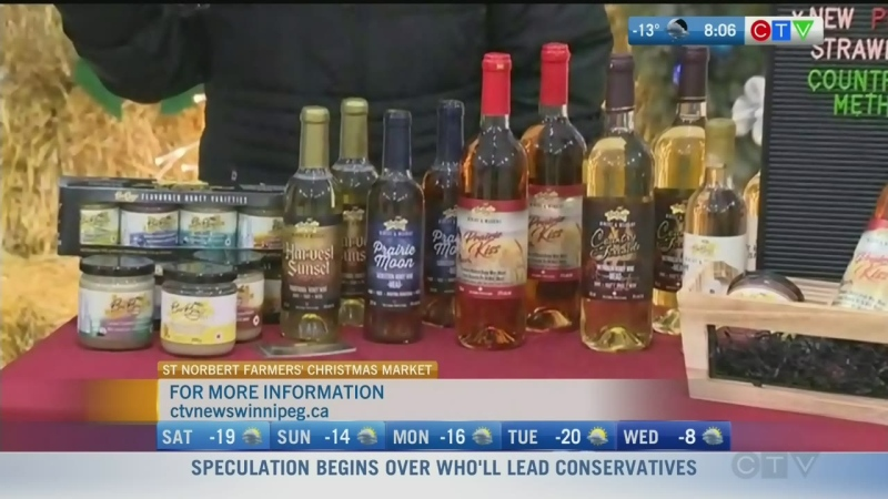 Manitoba's first honey mead makes for a sweet and unique treat during the holidays. Rachel Lagacé reports.