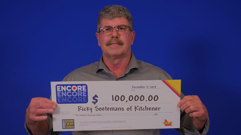 Kitchener firefighter takes home $100K lotto prize