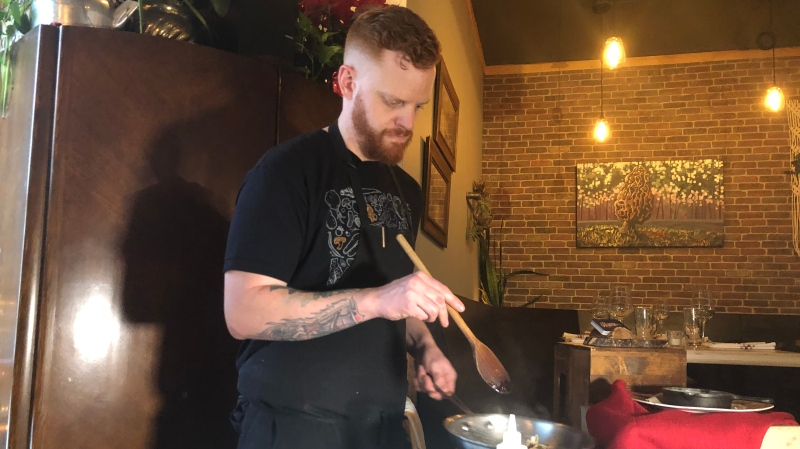 Thayne Robstad says Saskatoon is an affordable place to open a restaurant.