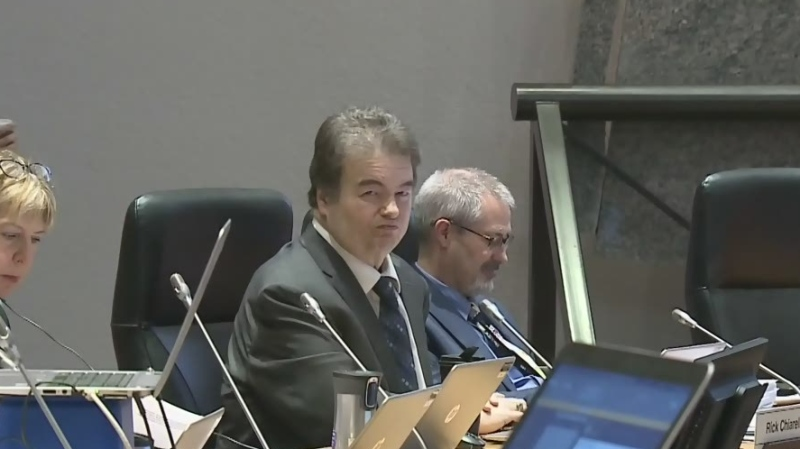 Embattled city councillor Rick Chiarelli is underg