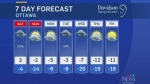 Friday midday weather update