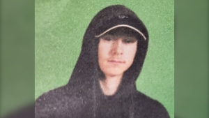 """Zander Jones is described as being 5'7"""" tall and weighing about 110 pounds. He has short blonde hair and blue eyes. He was last seen wearing a black hoodie, jeans, black shoes and a black backpack."""