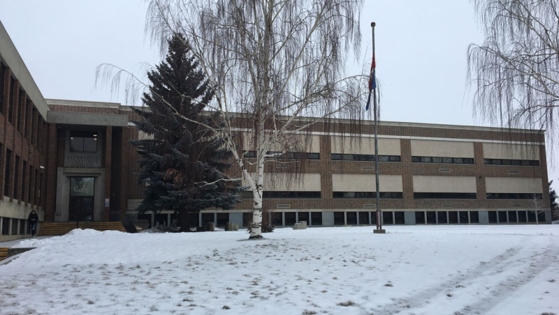 Lethbridge police arrested a 17-year-old boy after Friday morning's lockdown at Lethbridge Collegiate Institute