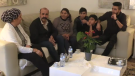 The Gneid family fled from Syria to Lebanon in 2012, arriving in Canada in June 2017. (CTV News)