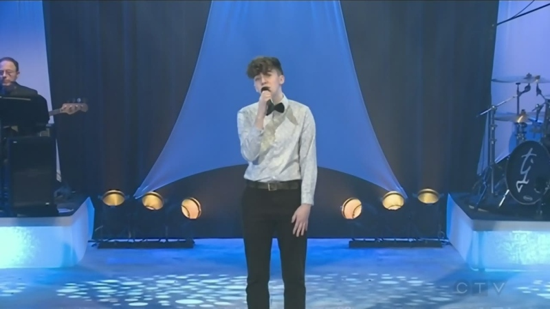 WATCH: Grade 12 student Brady Fex makes his CTV Lions Children's Christmas Telethon debut in 2019 singing I'll Be Home.