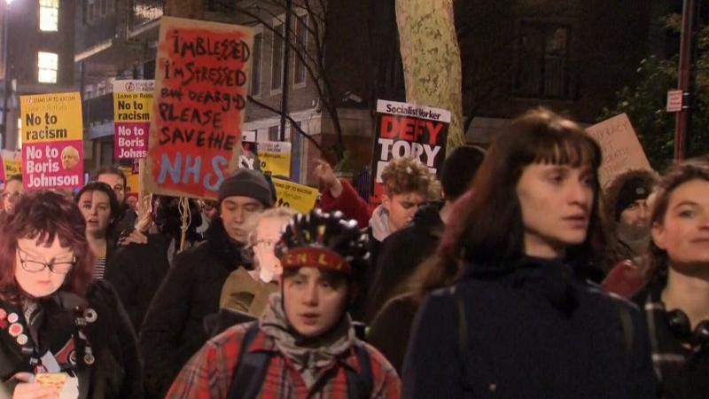 U.K. Protests