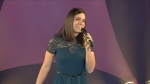 WATCH: Local kindergarten teacher Ashley Nodwell returns to the CTV Lions Children's Christmas Telethon in 2019 to sing Step into Christmas.