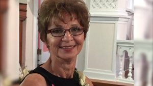 Eslie Gartner , 64, was killed by her husband David according to RCMP.
