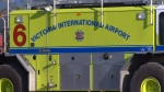 A Victoria International Airport emergency vehicle is pictured in this file photo: (CTV News)