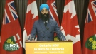 NDP lawmaker Gurratan Singh says a recent change in regulations means a new respirator doesn't work properly for Sikh paramedics who practise kesh, keeping their beards and hair uncut. (CTV News Toronto)