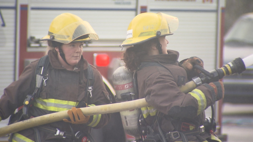 Barely 100 female firefighters in Metro Vancouver despite recruitment efforts