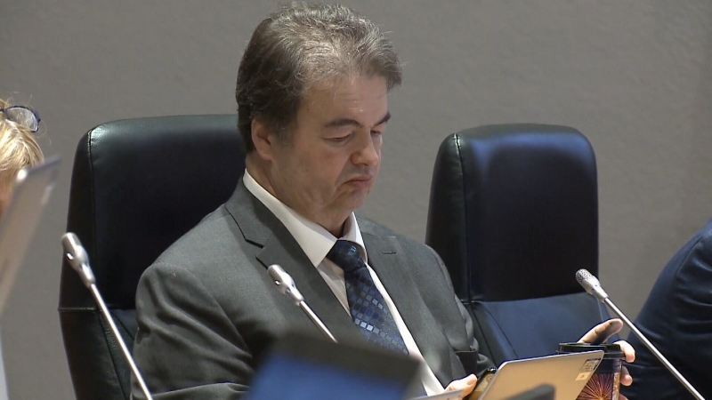Councillor Rick Chiarelli has heart surgery