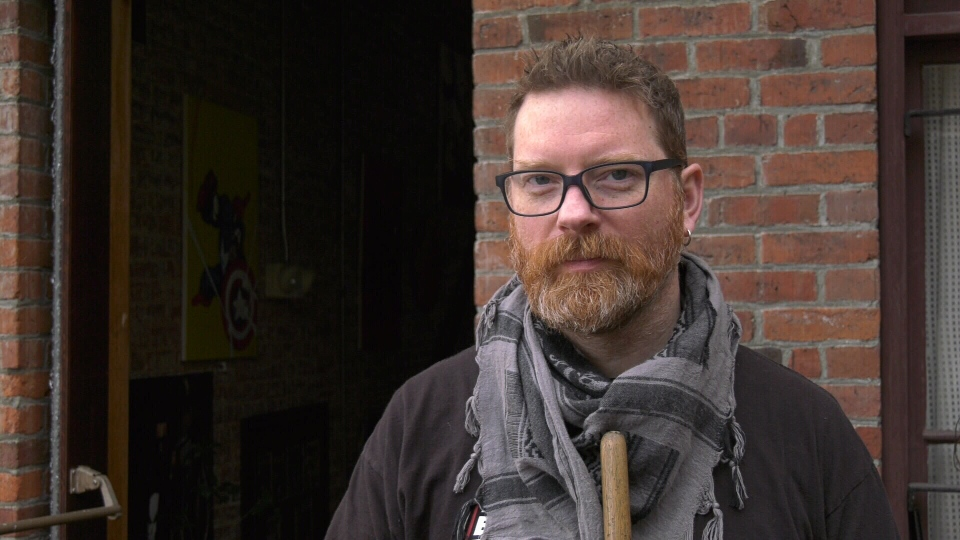 Cherry Bomb Toys owner B. Woodward says VicPD is in need of more funding: Dec. 13, 2019 (CTV News)