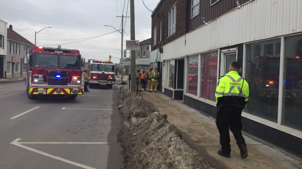 Barrie building evacuation