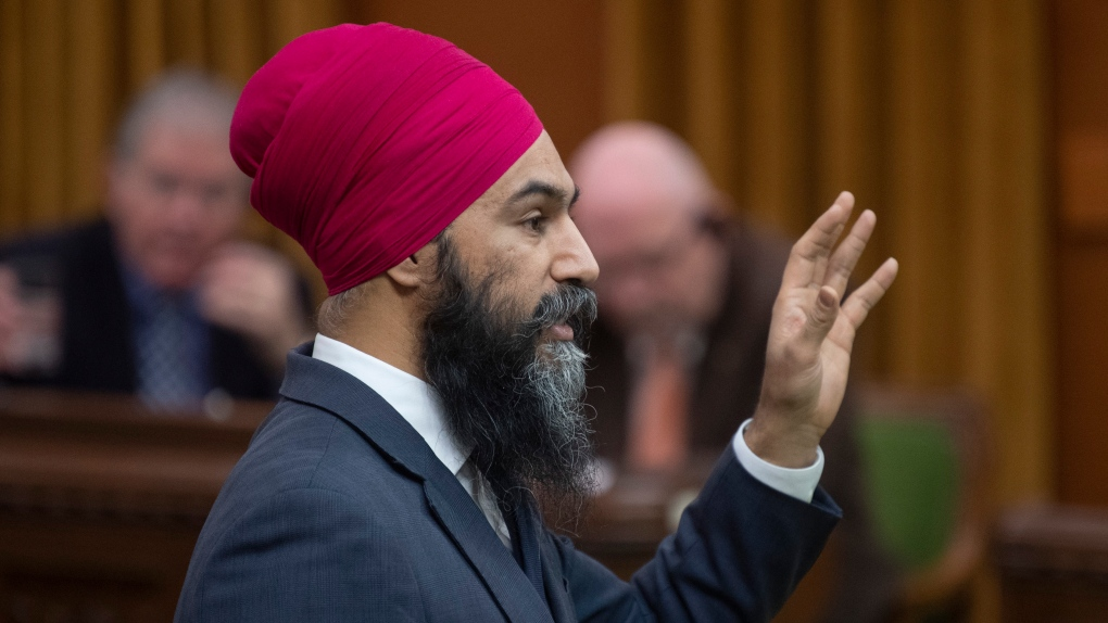 Singh says he'd rather push Liberals than work with Tories