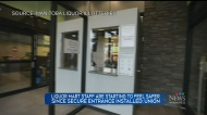 Just over two weeks ago Tyndall Market Liquor Mart installed a secure entrance. Now the union says staff are starting to feel safe.