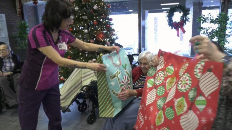 Santa for seniors program