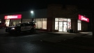 Waterloo Regional Police are investigation a robbery at a Scotia Bank on Saginaw parkway on Friday December, 13 (Edwin Huras/CTV KitchenEr)