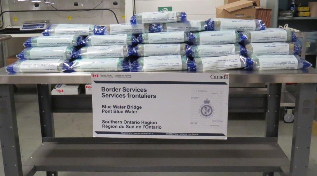 Massive coke bust at US border