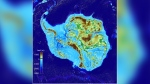 A new study shows that the deepest point on land is under the Denman Glacier in East Antarctica. (Dr. Mathieu Morlighem)