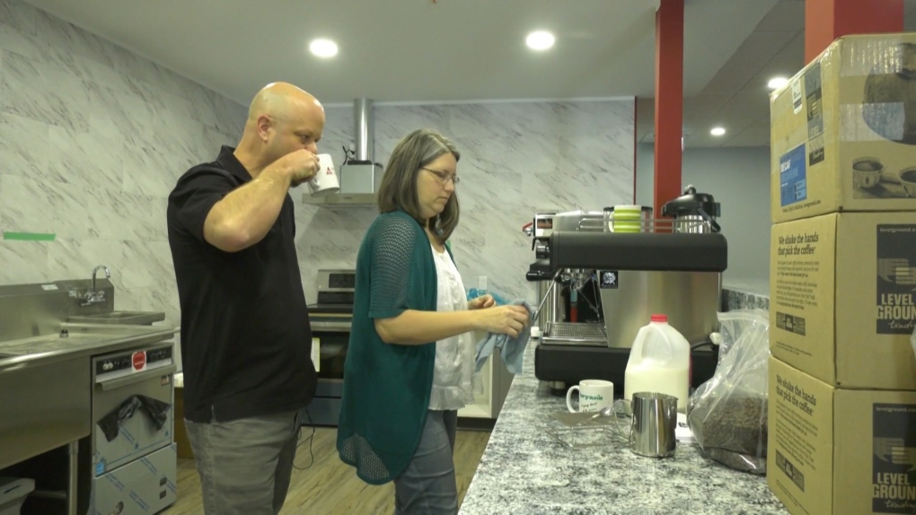 New coffee shop aims to give back and create legacy for terminally ill woman