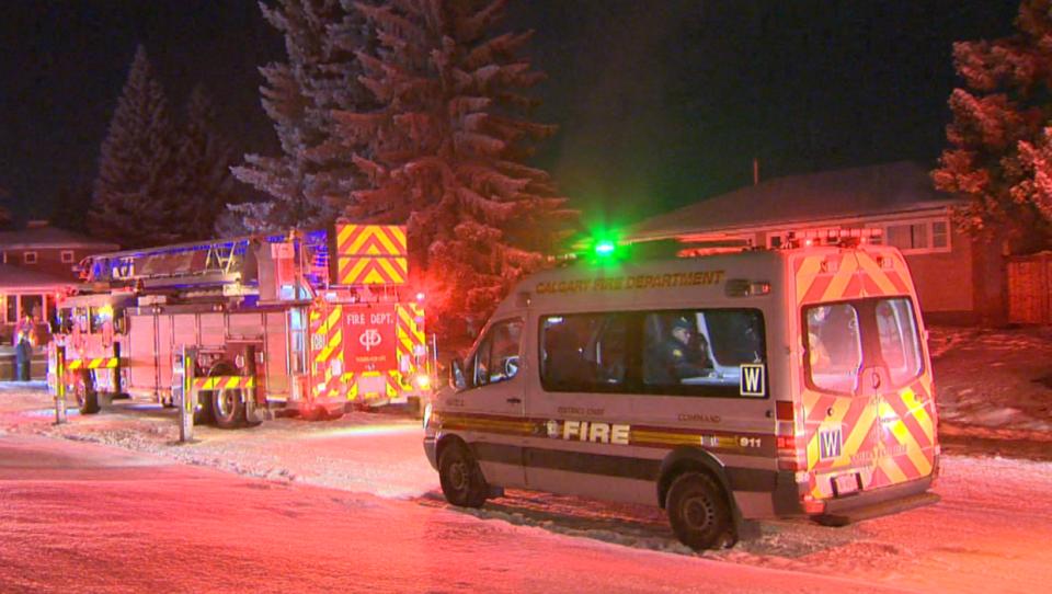 Glendale Fire Calgary