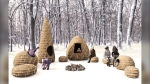 One of three winning designs in the 10th Annual Warming Hut Competition at The Forks. (Source: The Forks)