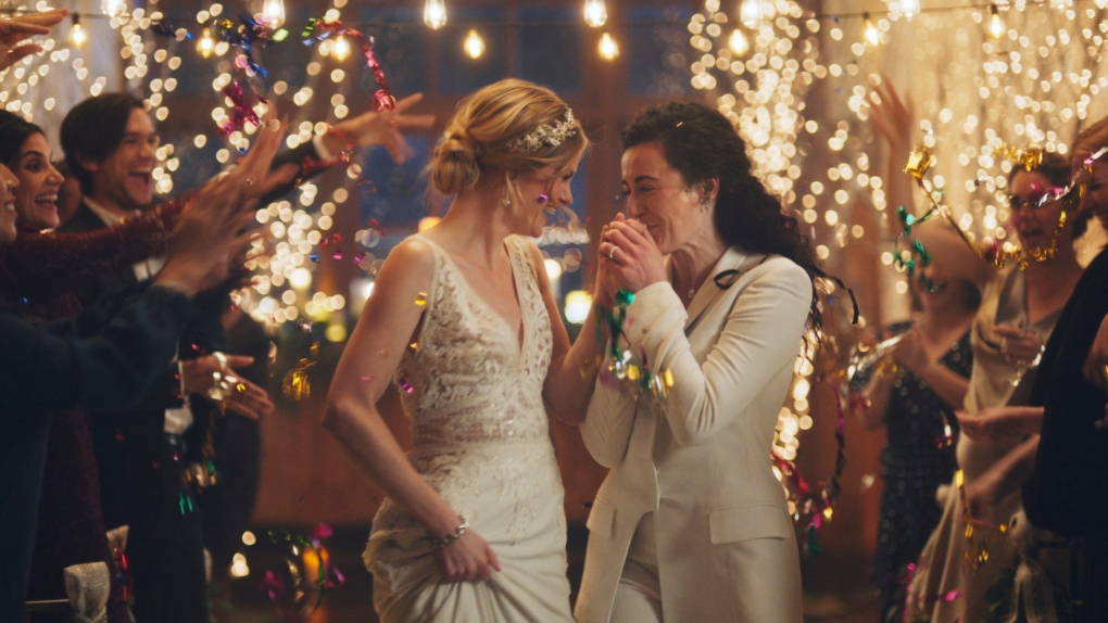 Hallmark removes wedding ads featuring two brides, calls debate 'distracting'