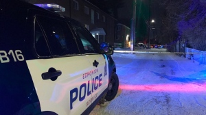 Police say a social gathering ended in one man being stabbed at a home near 118 Avenue and 61 Street on Dec. 14, 2019.