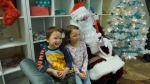 An event organized by the Inside Out Theatre Company offered deaf and hard of hearing kids an opportunity to tell Santa Claus their wishlist in their own language.