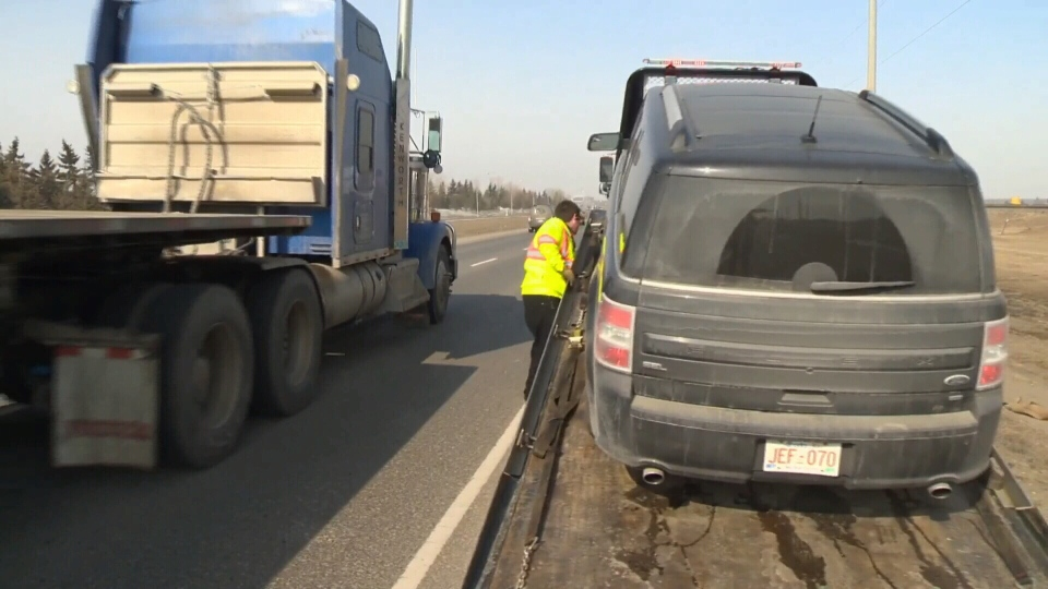 Those in the towing industry are calling for increased safety rules for operators who are working on the road side.