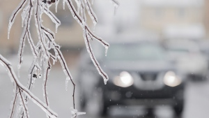 The possibility of freezing rain this evening and overnight has prompted Environment Canada to issue a special weather statement for some communities in northeastern Ontario. (File)