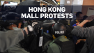 Chaos erupts in Hong Kong shopping centres