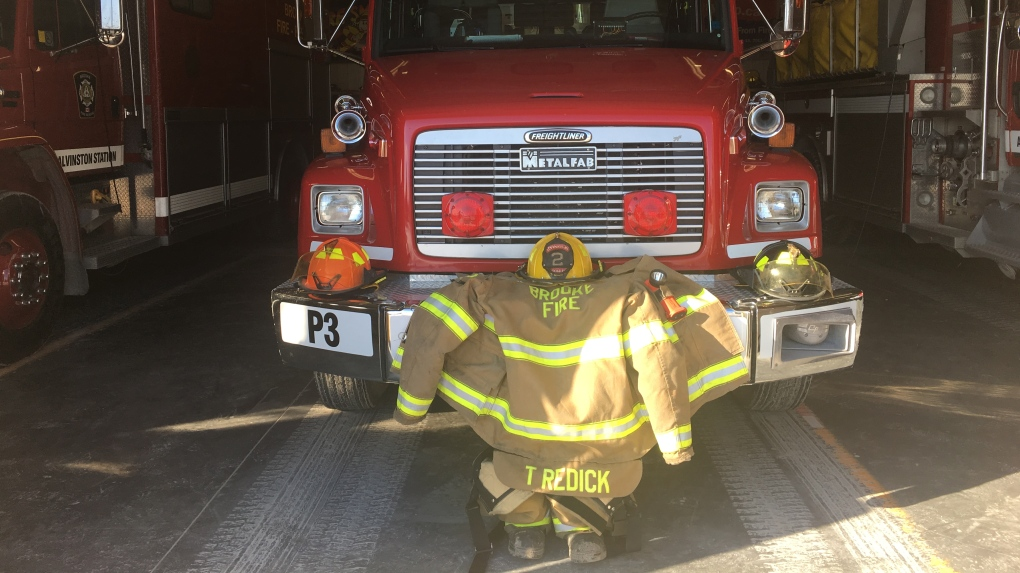 'This is your worst nightmare' : Alvinston volunteer firefighters learn one of their own is fatal crash victim