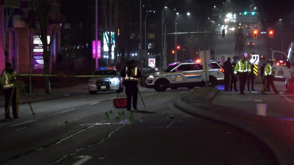 Surrey fatal pedestrian
