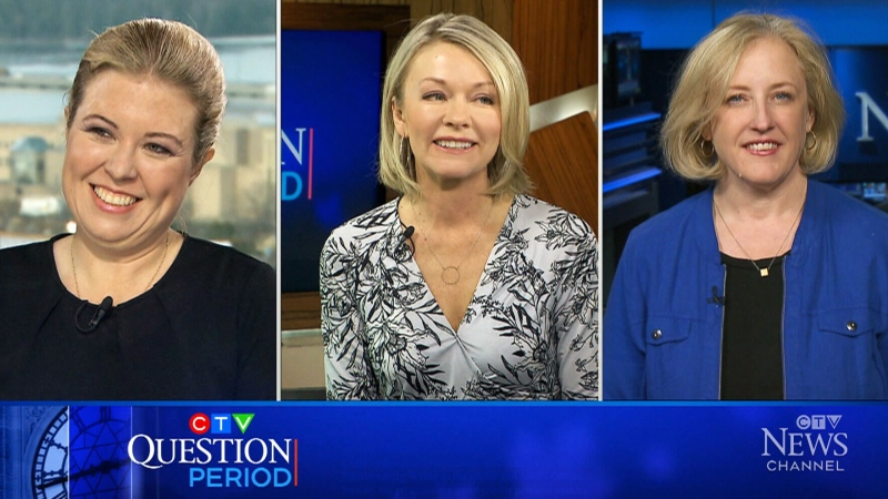 Conservative MPs Michelle Rempel Garner and Candice Bergen and former Conservative deputy leader Lisa Raitt discuss Scheer stepping down.
