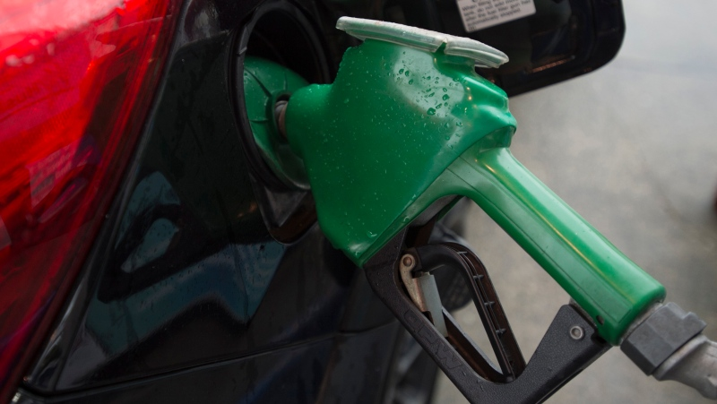A car is fuelled up at a gas station in Vancouver, Wednesday, July 17, 2019. (THE CANADIAN PRESS / Jonathan Hayward)