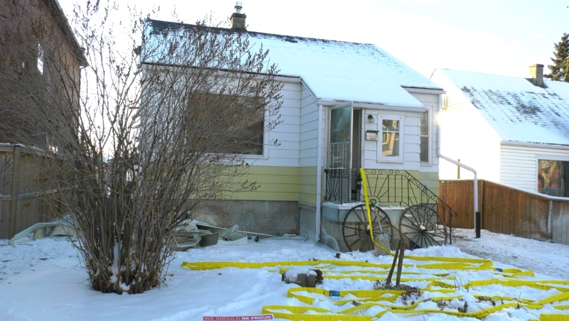 The fire department said the fire burned out the kitchen floor and reached the attic area.