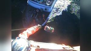 U.S. Coast Guard rescues Canadian fisherman