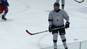 Hockey player returns to ice after alleged racism