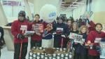 Volunteers help local charities
