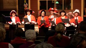 The Boomtown Singers performing at the Western Development Museum in Saskatoon. (Chad Leroux/Saskatoon)