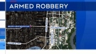 Police search for armed robbery suspect