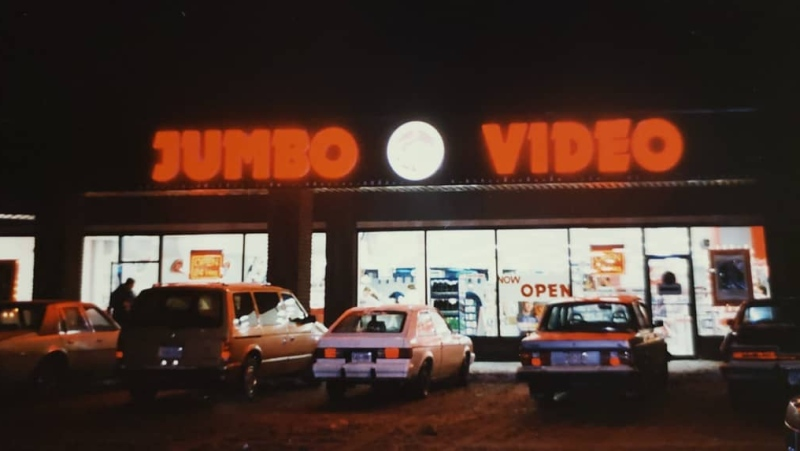 The store first opened its doors back in December 1989 in a strip mall close to where it's located now in north part of the city. (Microplay/Jumbo Video - London/Facebook)