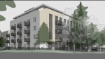 Jameson Development Corporation has applied to build a five-storey rental building that includes 63 rental suites, 13 of which would be geared toward moderate-income households earning between $30,000 and $80,000. (CTV)