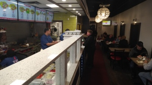 The Donair and Shawarma House in Sherwood Park was established by two former Syrian refugees who met after moving to Alberta.