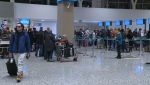 Nearly a million passengers are expected to depart or arrive at Calgary International Airport over the holiday season